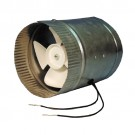 "Supco DB6 - 6"" Duct Booster - 30 Watts - 115 Volt - 0.35 Amperage - 5-1/4"" Fan Blade - 1950 RPM - 250 Max Boosted CFM - 50 dBA"