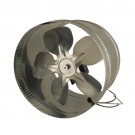 "Supco DB10 - 10"" Duct Booster - 120 Watts - 115 Volt - 1.5 Amperage - 8"" Fan Blade - 1300 RPM - 650 Max Boosted CFM - 55 dBA"