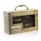 UCAN DCC KIT - Ti-Awl ® Tile Bit - Kit Includes  Aluminum case,Six popular sizes of tile drills,non-slip guide