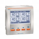Lovato DMG800RGCA - Flush Mount LCD Multimeter - Expandable - Measuring Voltage up to 830VAC L-L - 2 Digital Inputs and 2 Static Outputs Opto-Isolated