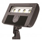 Lithonia Lighting DSXF2 LED P2 40K M2 - D-Series Size 2 LED Flood Luminaire - 4000K Cool White - 78W - 10680 Lumens - 70 CRI - 120-277V - Dark Bronze