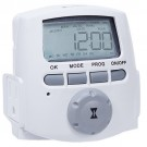 Intermatic DT620 - Heavy Duty Indoor Digital Timer - 2 Grounded Outlet - 15 Amps - 120 VAC - White