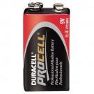 Duracell - Procell PC1604 - Alkaline Battery - 9V Size - 9 Volt - Professional Grade