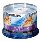 Philips DVD-R, 50 pcs/pk