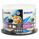 Philips Printable DVD-R, 50 pcs/pk Cake