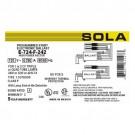 Sola E-724-F-242 - Electronic Ballast - CFM26/32/42 Lamp Wattage - Programmed Rapid Start - 120V