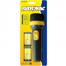 Rayovac E2D-BC - General Purpose Economy Flahslight - 9 Lumens - Beam Distance 246ft - (2) D Heavy Duty Batteries Included