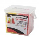NSI Industries ET-CP-3 - Easy-Twist Winged/Twist On Wire Connector Divided Combination Handy Pack Pail - 600V