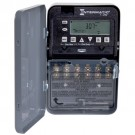 Intermatic ET1725CM - 7-Day Electronic Time Switch - 2 Circuit - 2xSPST or DPST - 30 Amps - 120/208/240/277 Volt