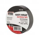 "NSI Industries EWG 7060 General Purpose Easy Wrap Electrical Tape, 0.75"" Width, 60' Length, 0.007"" Thick, Black (Pack of 10)"