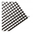 "Liteline AL100-24 MF - Mill Finish Aluminum Eggcrate Louver (cell size: 1"" × 1"" × 1"") - 24"" × 48"""