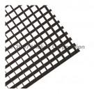 """Liteline AL100-44 BL - Black Aluminum Eggcrate Louver (cell size: 1"""" × 1"""" × 1"""") - 48"""" × 48"""""""