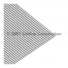 """Liteline K19-22 CA-160 - Clear K19 Prismatic Acrylic Plexiglas (.160"""") - 23-3/4"""" × 23-3/4"""""""