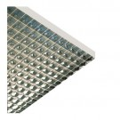 "Liteline PL2/2-22 SP-S - Para-Lite 2 Parabolic Louver (Cell Size: 1-1/2"" x 1-1/2"") - 23-3/4"" x 23-3/4"" - Specular Silver"