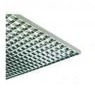"Liteline PL3/2-24 SSSA - Para-Lite 3 Parabolic Louver (Cell Size: 3/4"" x 3/4"" x 1/2"") - 23-3/4"" x 47-3/4"" - Semi-Specular Silver"