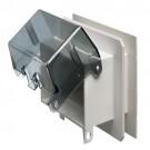 Arlington F8091HCGC - Horizontal One-piece Outlet Box for Siding - White - 10 Packs
