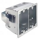 Arlington FSR404S - Metallic and Plated Steel 4x4 Box (Steel) - Silver - Plated Steel - 25 Packs