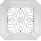 Panasonic FV-GL3TDB 14-1/2-Inch ABS Designer Vent Grille, White Finish