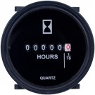 Intermatic GZ40AU - DC Hour Meter - SAE Bezel 2.31 in. Diameter - 6 Digits - Voltage: 4-40 VDC and 10-80 VDC