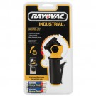 Rayovac ILJ2AA-B - 2AA Industrial 2-Way Swivel Flashlight - Batteries Included - Length 4.3 in. - Black/Yellow