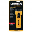 Rayovac IN2C - 2D Industrial Flashlight with Ring Hanger - Length 7.3 in. - Yellow