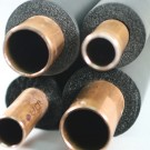 """ALLTEMP 82-PW11258 - Insulation Tubes - 1"""" Wall Thickness - 6' Length - 2 5/8'' HVAC/R(OD) / 2 1/2'' Plumbing(ID) Copper Tube Size - 8 Packs"""