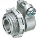 """Arlington L42 - 3/8"""" Squeeze Connector - 0.530 - 0.620 Cable Range - Zinc die-cast - 50 Packs"""
