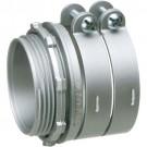 """Arlington L4210 - 4"""" Squeeze Connector - 4.030 - 4.635 Cable Range - Zinc die-cast"""