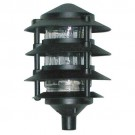 "RAB Design LL22 HEAD ONLY - Pagoda Garden Light - 1/2"" NPS Entry - 100 Watt - 120 Volt - Incandescent"