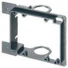 Arlington LVMB2 - Low Voltage Mounting Brackets for New Construction - Black - 2-Gang - 5 Packs