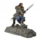 Swordfish Warcraft Movie Collection Lothar Statue Phone Dock-Horde