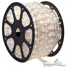 1/2 in. - LED - Snow White - Rope Light - 2 Wire - 120V - 150 ft. Spool - Clear Tubing with Snow White LEDs - IFLC-18-S
