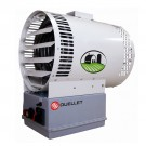OUELLET OAU05000BL-LT - 3750/5000W - 208/240V - White - 1 Phase - 1/4 HP - Unit With Automatic Reset High-limit Temperature Control