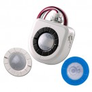 Leviton OSFHU-ITW - Fixture-Mounted PIR High-Bay Sensor with 3 Interchangeable Lenses - White