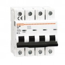 Lovato P1MB4PD10 - MINIATURE CIRCUIT BREAKER - 4P - 10KA. 4 MODULES - CHARACTERISTIC B - 10A