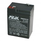GS Battery - 6 Volt  - 4.5 AH - Rechargeable
