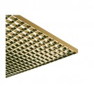 "Liteline PL1-22 SP-G - Para-Lite 1 Parabolic Louver (Cell Size: 1/2"" x 1/2"" x 7/16"") - 23-11/16"" x 23-3/4"" - Specular Gold"
