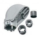 """Arlington PVC1040 - 1-1/2"""" PVC Entrance Cap with Adapters and Sleeves - UV-Rated Plastic - 10 Packs"""