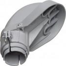 """Arlington PVC109 - 3"""" PVC Entrance Caps - UV-Rated Plastic"""