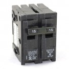 Siemens Q215 - Type QP - Plug in Circuit Breaker - 2 Pole - 15 Amp - 120/240VAC - Thermal Magnetic Type - Common Trip
