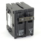 Siemens Q225 - Type QP - Plug in Circuit Breaker - 2 Pole - 25 Amp - 120/240VAC - Thermal Magnetic Type - Common Trip