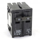 Siemens Q250 - Type QP - Plug in Circuit Breaker - 2 Pole - 50 Amp - 120/240VAC - Thermal Magnetic Type - Common Trip