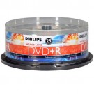 Philips DVD+R8.5Gb 8X DUAL LAYERFull Logo Silver Matte Surface P/N#DR8S8B25F/17