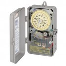 Intermatic R8815P101C - 120V 60Hz - DPST - 25 Amp - 1 1/2 HP - with Rain Sensor Input Terminals - NEMA 3 Raintight Plastic Enclosure