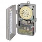 Intermatic R8816P101C - 208-277V 60Hz - DPST - 25 Amp - 3 HP - with Rain Sensor Input Terminals - NEMA 3 Raintight Plastic Enclosure