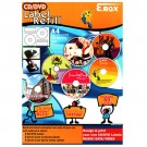 E.Box CD/DVD Label Refill (40PC)