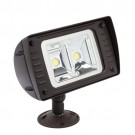 RAB Design RFL2-LED40-C-5K-W-BRZ-YK-PC - LED Floodlight - 40 Watt - 347V - 5000K Daylight - Wide - Bronze Finish - 4600 Lumens - Yoke - Photocell