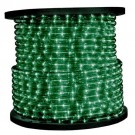 1/2 in. - LED - Faux Green - Rope Light - 2 Wire - 120V - 150 ft. Spool - Green Color Tubing with  Faux Green LEDs - IFLC-18-FS