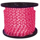 1/2 in. - LED - Pink - Rope Light - 2 Wire - 120V - 150 ft. Spool - Pink Color Tubing with Pink LEDs - IFLC-18-PS