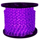 1/2 in. - LED - Purple - Rope Light - 2 Wire - 120V - 150 ft. Spool - Purple Color Tubing with White LEDs - IFLC-18-PL